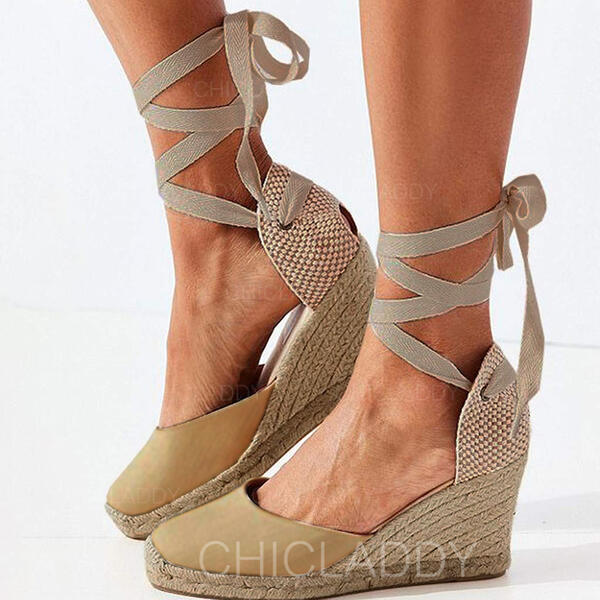 De mujer PU Tipo de tacón Cerrados con Cordones zapatos