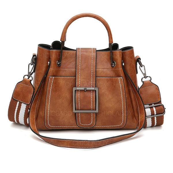 Elegant PU Totes väskor/Kors- Hand väskor/Axelrems väskor