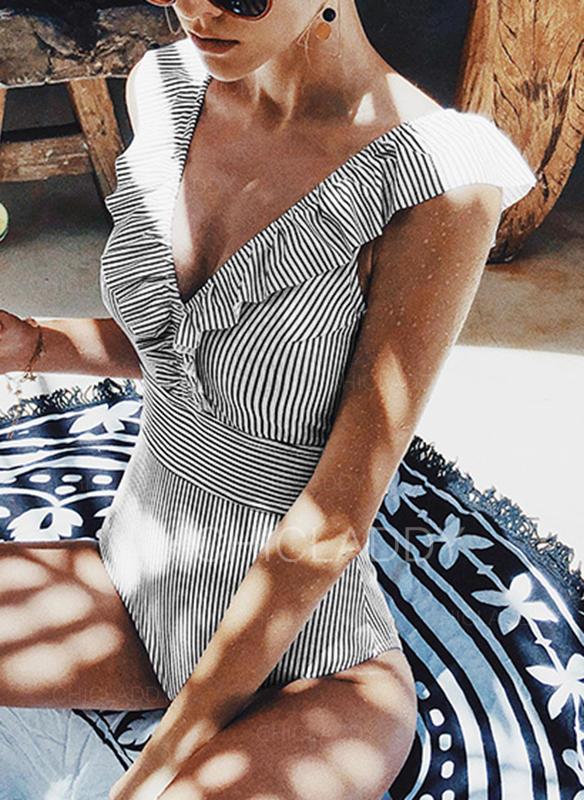 Raya Correa Sexy Lindo Una pieza Trajes de baño