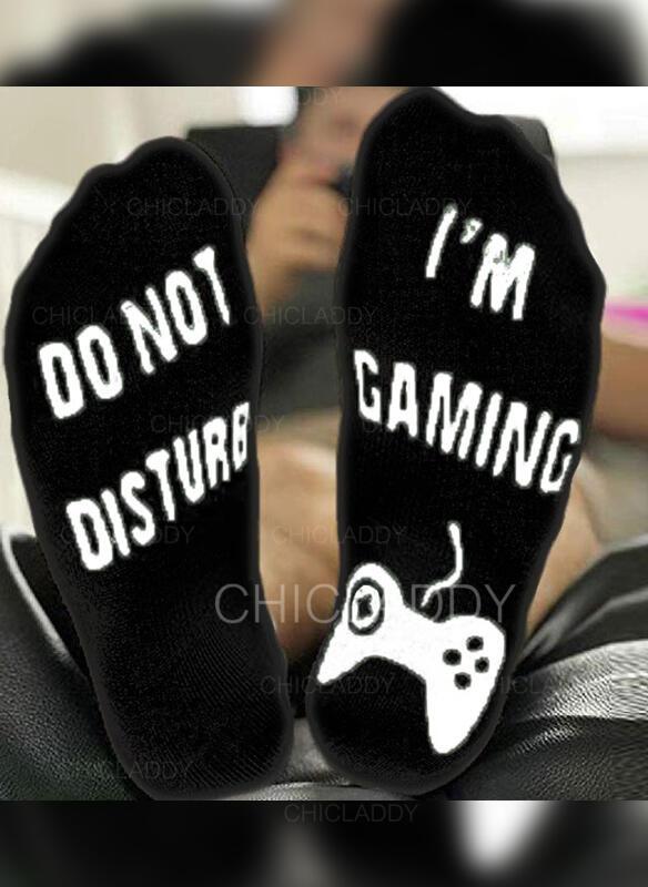 Dopis/Tisk Prodyšný/Komfortní/Unisex Ponožky