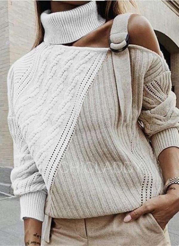 Színblokk Garbó Hétköznapokra πουλόβερ
