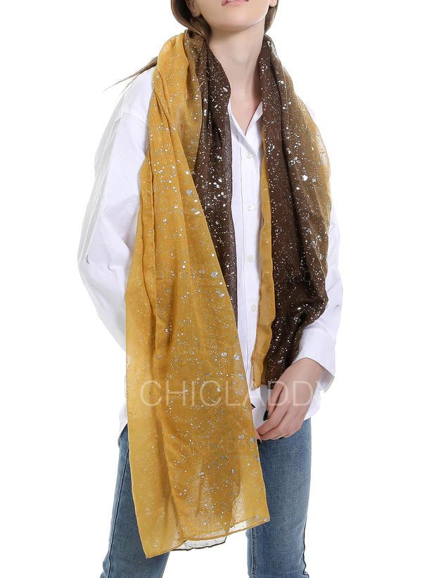 Χρωματική κλίση ελκυστικός/Κρύος καιρός Κασκόλ