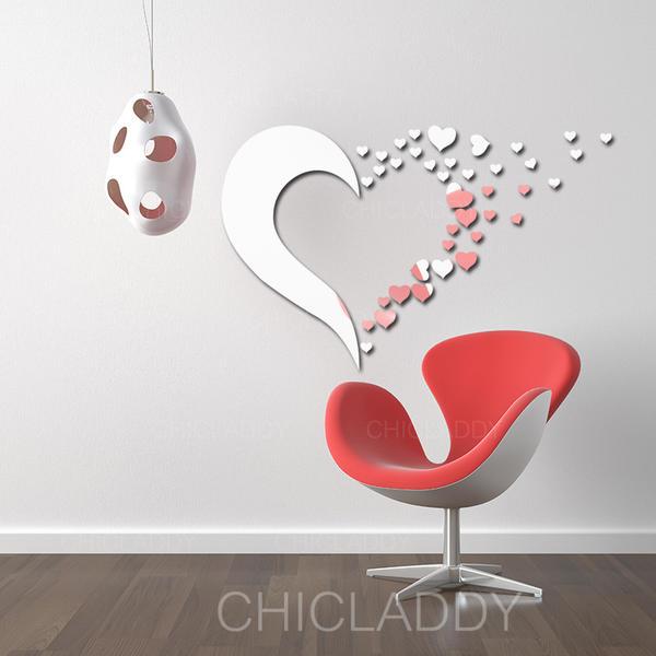 Modern Style Vertical Popkunst Stickers muraux