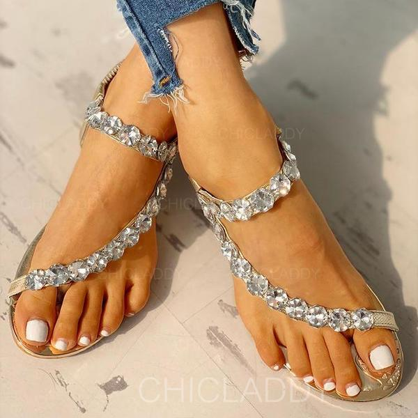 Bayanlar PU Sivri topuk Sandalet Peep Toe Ile Yapay elmas ayakkabı