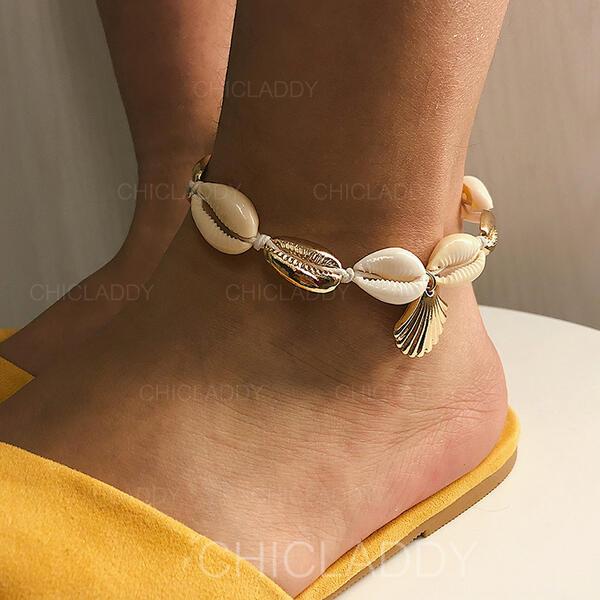 Κέλυφος Κράμα Παραλία κοσμήματα Ποδιές