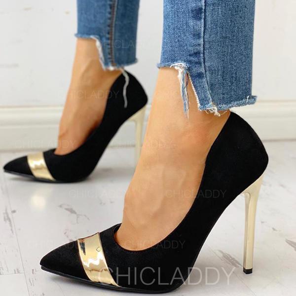 Bayanlar PU Topuklu ayakkabı Pompalar ayakkabı