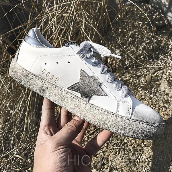 Bayanlar PU gündelik Dış mekan atletik Ile Bağcıklı ayakkabı ayakkabı