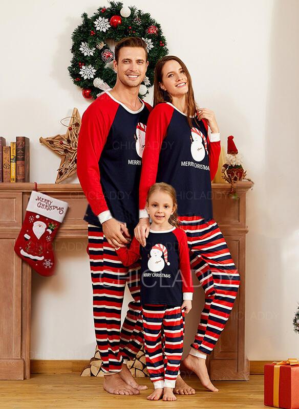 Плед Письмо Семейное соответствие Рождественская пижама