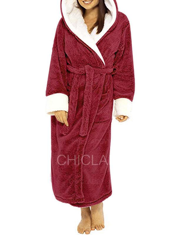 Polyester Pevný Dlouhé rukávy Vánoce Roucho