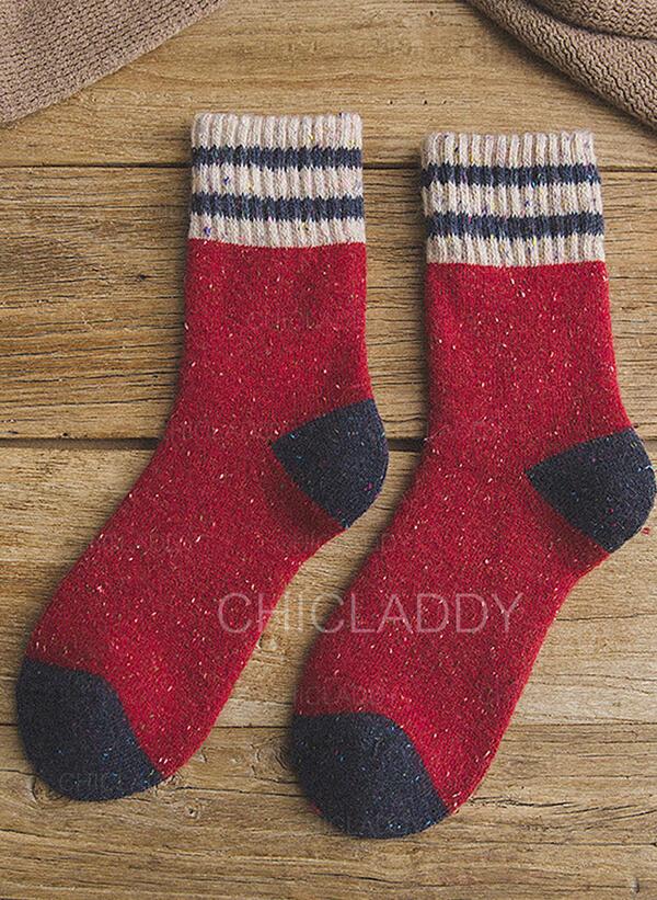 šití Komfortní/Vánoce/Posádkové ponožky/Unisex Ponožky