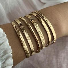 Exotisch Stijlvol Legering Armbanden (Set van 6)