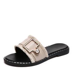 Σανδάλια Ανοιχτά σανδάλια toe Παντούφλες Με Απομιμήσεις Pearl παπούτσια
