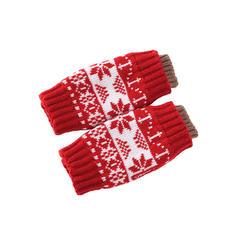 Retro /Vendimia/Navidad atractivo/Clima frío/Navidad Guantes