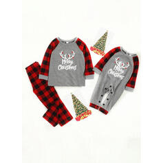 Reno Carta Impresión Familia a juego Pijamas De Navidad