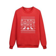 Letter Family Matching Sweatshirts