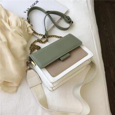 Fashionable/Splice Color Crossbody Bags