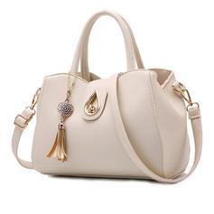 Elegant/Classical/Solid Color Tote Bags/Crossbody Bags/Boston Bags