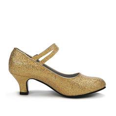 Pentru Femei Pantofi de caracter Tocuri Încălţăminte cu Toc Înalt Sclipici Sclipitor Latini