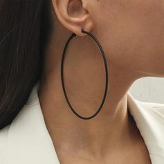 À la mode Alliage Femmes Boucles d'oreilles (Lot de 2)