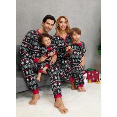 Santa claus Impresión Familia a juego Pijamas De Navidad