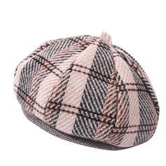 Ladies '/Kvinder Vintage Bomuld/Polyester Baret Hat