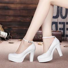 De mujer Sala de Baile zapatos de personaje Tacones Piel Sala de Baile