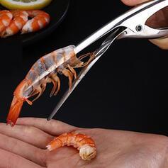 Alta calidad Multifuncional Acero inoxidable Abrazadera de camarones