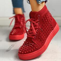 Pentru Femei Pânză cu Lace-up pantofi