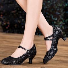 Женский Обувь для персонажей Искрящийся блеск латынь