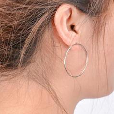 Alliage Femmes Boucles d'oreille de mode