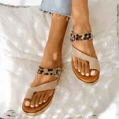 Γυναίκες Λείαντο Επίπεδη φτέρνα Σανδάλια Με Διαχωρισμένη άρθρωση παπούτσια