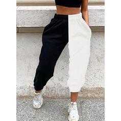 Nášivky Kapsy Plus velikost Dlouho Neformální Sportovní Kalhoty