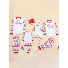 Venado Carta Impresión Familia a juego Pijamas De Navidad