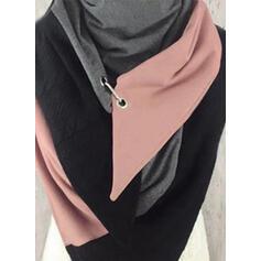 Colore solido/Cucitura moda/Confortevole Sciarpa
