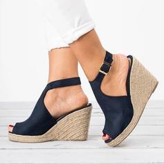 De mujer Ante Tipo de tacón Salón Encaje con Hebilla zapatos