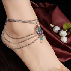Único Liga Resina com Resina Senhoras Corpo de jóias