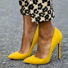 Mulheres PU Salto agulha Bombas sapatos