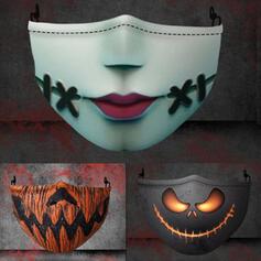 Acrylic Recuzită de Halloween Masca Măști de față (Vândut la bucată)