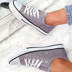 Unisex Canvas Casual Outdoor With Lace-up shoes