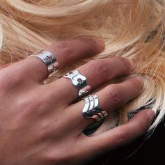 Μόδας Κράμα Κυρίες Δαχτυλίδια μόδας
