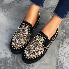 Women's PU With Rivet shoes