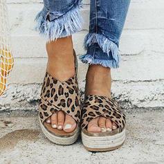 De mujer Ante Tipo de tacón Sandalias Cuñas con Otros zapatos