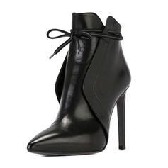 De mujer PU Tacón stilettos Salón con Material Block zapatos