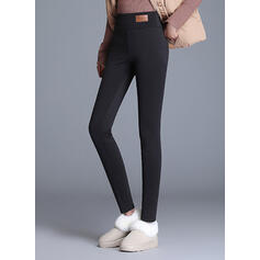 Pevný Dlouho Elegantní Sexy Kalhoty Legíny