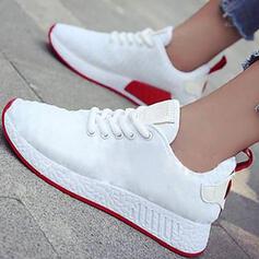 Femmes Tissu Décontractée De plein air Athlétique avec Dentelle chaussures