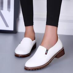 De mujer PU Tacón bajo Salón con Otros zapatos