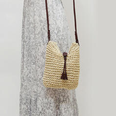 Egyedi/Vonzó/Aranyos/Bohém stílus/Fonott/Kézzel készített Crossbody táskák/Válltáskák/Strandtáskák/Vödör táskák/Hobo táskák