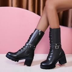 Μίνι μπότες Στρογγυλά παπούτσια Martin Boots Με Φερμουάρ Κέντημα-επάνω παπούτσια