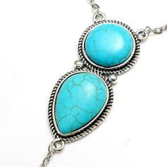Exotisk Legering med Pärla Kvinnor Strand smycken
