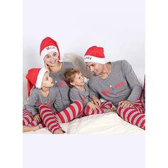 Color-Block Carta Raya Familia a juego Pijamas De Navidad